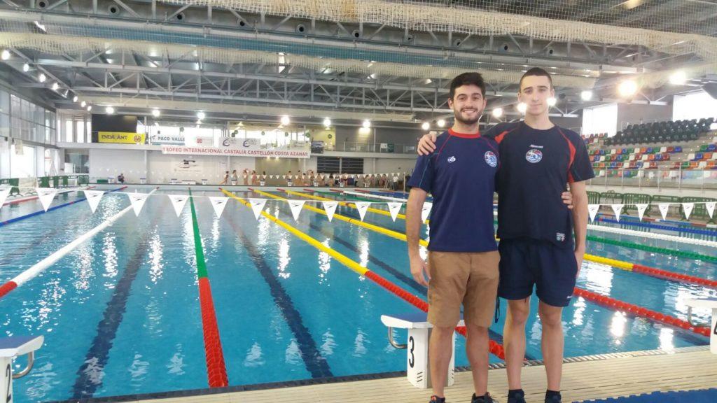 Aitor sastre particip con la selecci n vasca en el xiv trofeo internacional de castalia club - Piscina olimpica castellon ...