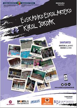 Juegos Escolares de Euskadi 2019